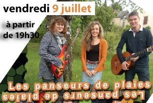 Soirée Musicale «Les Panseurs De Plaies»